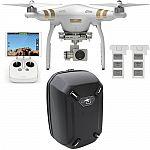 DJI Phantom 3 Professional Quadcopter Drone w/ 4K Camera + Backpack & Extra Battery $849