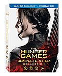 The Hunger Games: Complete 4 Film Collection [Blu-ray + Digital HD] $10