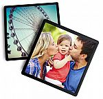 "Framed 4""x4"" or 4""x6"" photo magnets $1.75 and more"
