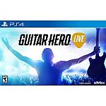 Guitar Hero Live Bundle (PS4 and XBox One) $25