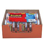 Scotch Heavy Duty Shipping Packaging Tape 6 Rolls with Dispenser $7.88