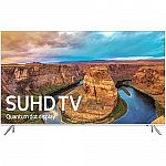 "Samsung UN65KS8000 65"" Class 4K SUHD Smart LED TV $1267"