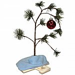"Peanuts By Schulz 24"" Charlie Brown's Christmas Tree with blanket and red ornament $8.50"
