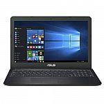 "ASUS K550 15.6"" FHD Laptop (i7-6700HQ 8GB 256GB SSD GTX 950M) $610"