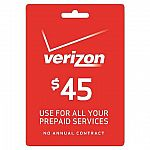 10% Off Prepaid Phone Refill Card @Target (AT&T, Verizon, T-mobile...)