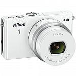 Nikon 1 J4 Refurbished Mirrorless 18.4MP Digital Camera w/ 10-30mm Lens $189, COOLPIX S3700 $80