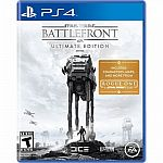 Star Wars Battlefront Ultimate Edition (PlayStation 4) $20 or less