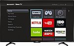 "50"" Sharp LC-50LB481U 1080p Roku Smart LED HDTV $199"