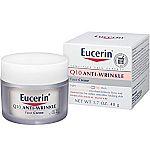 1.70 oz Eucerin Sensitive Skin Experts Q10 Anti-Wrinkle Face Creme $5.13