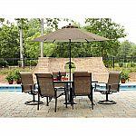 Garden Oasis Harrison 7 Piece Dining Set $279.99