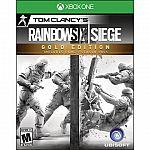 Tom Clancy's Rainbow Six: Siege Gold Edition $40