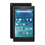 "Amazon Fire HD 8, 8"" HD Display, Wi-Fi, 8 GB $80 or 16GB $100"