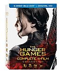 The Hunger Games 4-Movie Collection [Blu-Ray Includes Digital Copy] $33