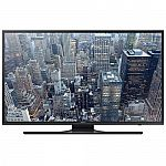 "Samsung UN50JU6500 50"" Class 4K UHD Smart LED TV $529"
