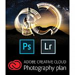 Adobe Creative Cloud Lightroom + Photoshop 12 Month Subscription (Code/Download) $94.95 ($7.92/mo)
