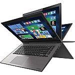 "Toshiba Satellite E45W 14"" Radius 2-in-1 Laptop (i3-5015U 6GB 500GB Win10 - Manufacturer refurbished) $250"