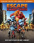 Escape From Planet Earth (3D Blu-ray + Blu-ray + DVD + Digital Copy) $4.50