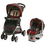 Graco Fastaction Fold Click Connect Travel System $157