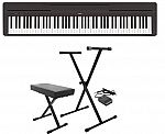 Yamaha P45 88-Key Digital Piano + Stand & Bench $350