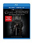 Game of Thrones: Seasons 1 & 2 on Blu-ray & DVD $12