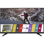 """LG 60UF7300 60"""" 4K Trumotion 240hz UHD LED TV w/ webOS 2.0 $799"""