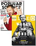 Wired + Popular Science Magazine Bundle $7.99/yr