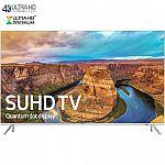 "65"" Samsung UN65KS8000 4K SUHD Smart LED HDTV $1600"