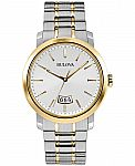 Bulova Men's Watch 98B214 $75