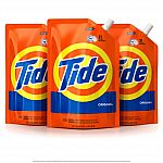 3-Packs select 48 oz Tide Smart Pouch HE Turbo Clean Liquid Laundry Detergent $12.59 and more