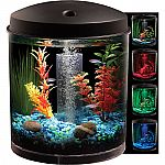 Hawkeye 2 Gallon 360 Starter Aquarium Kit with LED Lighting $16