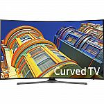 "Samsung UN65KU6500 Curved 65"" 4K Ultra HD Smart TV + $500 Dell eGift Card $1400 and more"