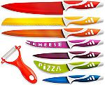 OxGord Professional Chef Knives Multi Use 8pc Gift Set for Home Kitchen $14.95