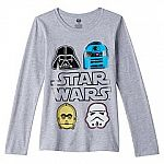 Kohls Cardholders: Big Girls' Star Wars Tees $1.70