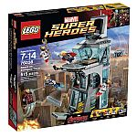 LEGO 76038 Super Heroes Attack on Avengers Tower $42