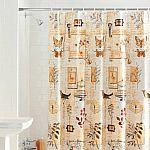 Mainstays Portico PEVA Shower Curtain $3