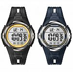 Timex Men's Marathon Timer Indiglo Sports Watch $13