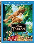 Tarzan Blu-ray + DVD + Digital Copy (750 Rewards Points)