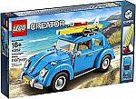 LEGO Creator 10252 Volkswagen Beetle + Free LEGO London Bus $100