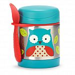 Skip Hop Zoo Insulated Food Jar, Owl $10.80