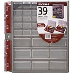 Stack-On 39-Drawer Storage Cabinet + 2x Storage Boxes $12.90
