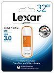 64GB Lexar Flash Drive $13, 32GB Lexar $7, 128GB PNY $20