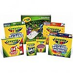 Up to 50% off select Crayola products