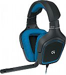 Logitech G430 Surround Sound Gaming Headset $40