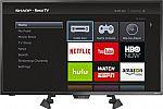 "Sharp 32"" Class LED 1080p Smart HDTV Roku TV $150"