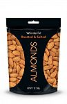 Wonderful Almonds, Roasted and Salted, 7-oz Bag $2.91 w/subscription