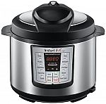 Instant Pot 6-in-1 Programmable Pressure Cooker, 6-Qt 1000-Watt $70