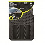 Pilot Automotive All Season 4 pc. Rubber Floor Mat Set $10