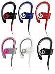 Apple Beats by Dre Powerbeats 2 Wireless Bluetooth In-Ear Earbud Headphones (Manufacturer refurbished) $70