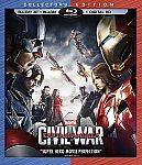 Marvel's Captain America: Civil War (3D BD+BD+Digital HD) [Blu-ray] + $5 Target Gift Card $23