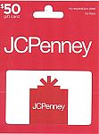 $50 JCPenney Gift Card $40